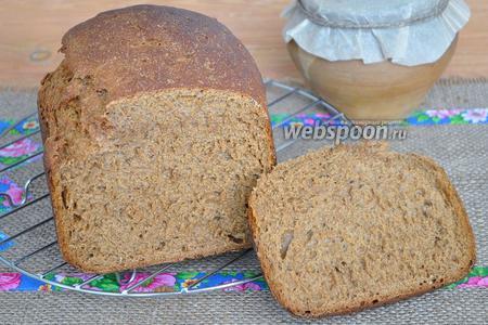 Бородинский хлеб в хлебопечи