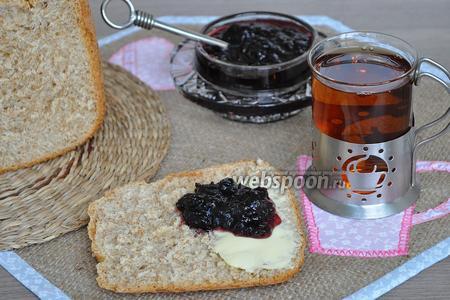 Фото рецепта Хлеб с пшеничными отрубями в хлебопечи