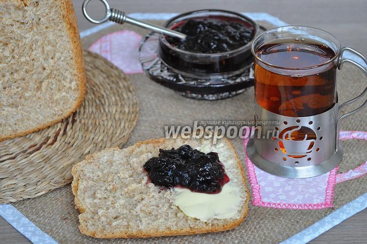 Фото Хлеб с пшеничными отрубями в хлебопечи