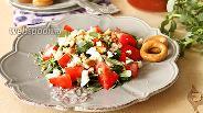 Фото рецепта Салат с портулаком