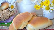 Фото рецепта Рогалики в хлебопечи