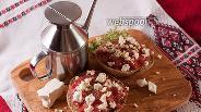 Фото рецепта Дакос — критский диетический чизбургер