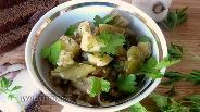 Фото рецепта Закуска из баклажанов и сладкого перца