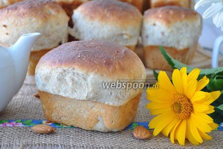 Овсяный хлеб с миндалём