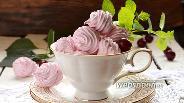 Фото рецепта Вишнёвый зефир на агар-агаре