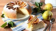 Фото рецепта Бисквит с грушами