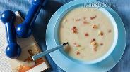 Фото рецепта Диетический суп-пюре с кольраби