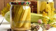 Фото рецепта Кабачки в горчично-чесночной заливке