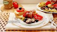 Фото рецепта Овощи гриль с беконом