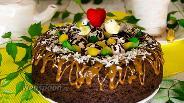 Фото рецепта Шоколадный бисквит на перепелиных яйцах в мультиварке