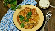 Фото рецепта Сочные котлеты из курицы и овощей
