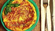 Фото рецепта Омлет с карамелизированным луком