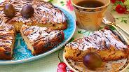 Фото рецепта Простой сливовый пирог