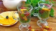 Фото рецепта Деревенский чай с ягодами