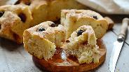 Фото рецепта Чесночная фокачча с оливками Каламата