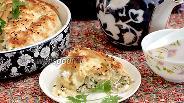Фото рецепта Пирог из лаваша с творогом и зеленью