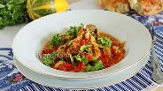 Фото рецепта Баранина с перцем и помидорами