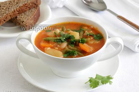 Балканский суп «Манджа»