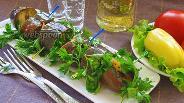 Фото рецепта Маринованные острые баклажаны