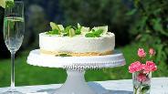 Фото рецепта Филадельфия-торт «Хьюго»