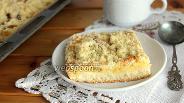 Фото рецепта Сливово-грушевый пирог