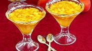 Фото рецепта Персики в лимонном желе