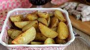 Фото рецепта Картофель в соевом соусе