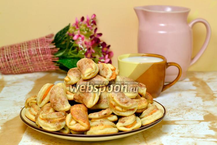 Фото Яблочное печенье «Пельмени»