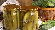 Фото рецепта Огурцы консервированные с семенами горчицы