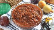 Фото рецепта Сливово-луковый чатни