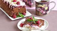 Фото рецепта Шоколадная шарлотка с ягодами