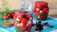 Фото рецепта Быстрые маринованные помидоры черри