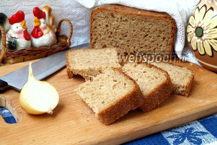 Фото Ржаной хлеб с луком в хлебопечке