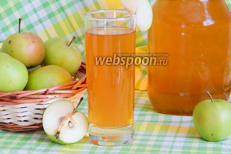 Фото Яблочный сок на зиму