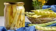 Фото рецепта Стручковая фасоль для супов и салатов на зиму