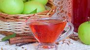 Фото рецепта Яблочный сироп с корицей и ванилью