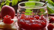 Фото рецепта Яблочно-малиновое повидло