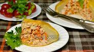 Фото рецепта Патиссоны с куриным фаршем в духовке