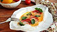 Фото рецепта Горячий салат «Капрезе»