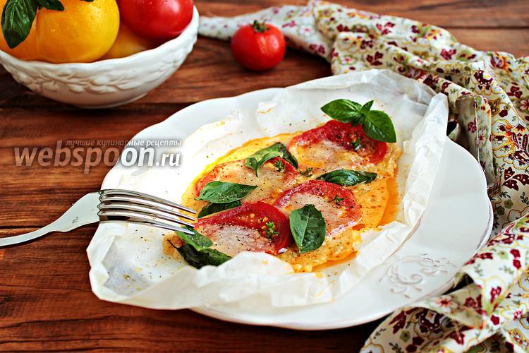 Фото Горячий салат «Капрезе»