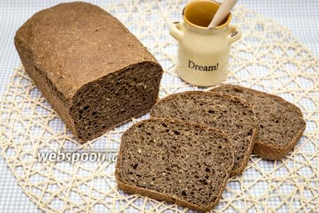 Фото рецепта Гречневый хлеб на солоде