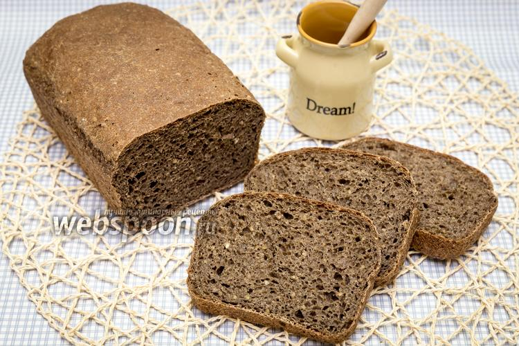 Фото Гречневый хлеб на солоде