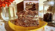 Фото рецепта «Наполеон» шоколадный