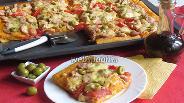 Фото рецепта Пицца по-домашнему