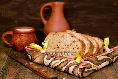 Фото рецепта Хлеб с сыром Чеддер и вяленым сладким перцем