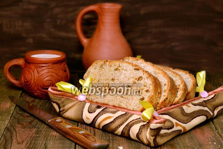 Фото Хлеб с сыром Чеддер и вяленым сладким перцем