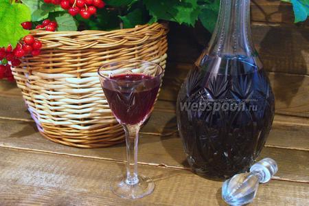 Наливка из вишни без спирта