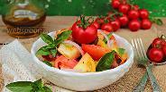 Фото рецепта Панцанелла из разных сортов томатов