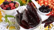 Фото рецепта Пастила из малины и ежевики