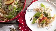 Фото рецепта Рисовый салат с фасолью и нектаринами